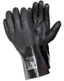 Tegera 13000 Black PVC Chemical Resistant Gloves
