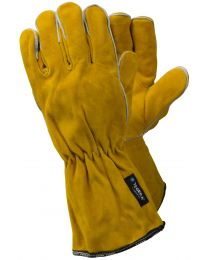 Tegera 19 Heavy Duty Leather Welding Work Gloves Long Cuff