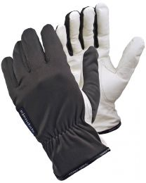 Tegera 340 Leather Work Gloves Grey / White