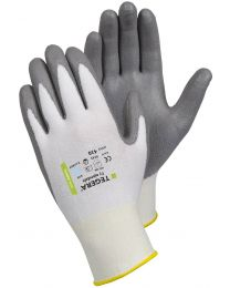 Tegera by Ejendals 430 PU Half Dipped Cut Resistant Level 3 Water and Oil Repellent Palm For Fine Assembly Work