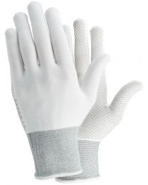 Tegera 931 White PVC Dot Grip Palm Nylon Work Gloves