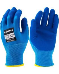 Polyco REFLEX AIR Latex Coated Gloves Blue