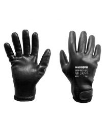 Warrior Fully Coated Black Nitrile Thermal Work Gloves