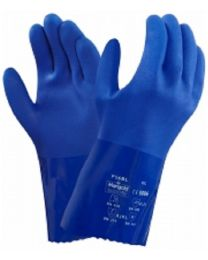 Ansell 23-200 Blue PVC Chemical Resistant Gauntlet