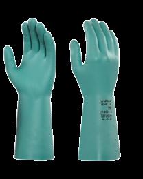 Ansell 37-200 Light Green Nitrile Household Chemical Resistant Gloves