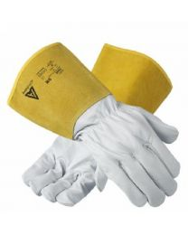 Ansell 43-217 Light Leather Tig Welding Work Gloves
