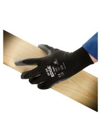 Ansell EDGE 48-126 Black PU Coated Gloves
