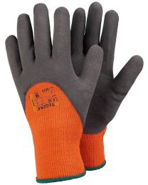 Tegera 682A Warm Winter Lined Latex 3/4 Foam 'Hi Viz Gloves