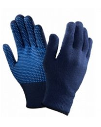 Ansell 78-203 PVC Dot Grip Palm Thermal Acrylic Liner Gloves Cold Frozen Handling