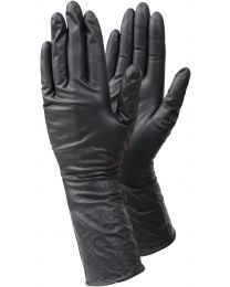 Tegera 849 Black Nitrile PF Disposable Gloves Long Cuff