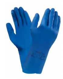 Ansell VersaTouch 87-195 Blue Latex Gloves