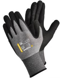Tegera 884A Nitrile Foam Gloves Dot Grip Palm