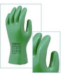 Marigold Flexiproof 27cm Green Nitrile Chemical Resistant Gloves