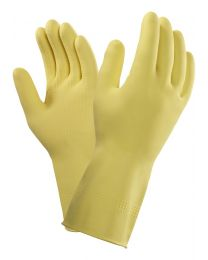 Ansell Marigold 87-063 (G04Y) Yellow Latex Chemical Resistant Gloves
