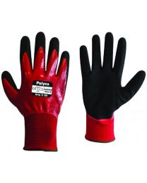 Polyco Grip It Oil Double Nitrile Coated Work Gloves