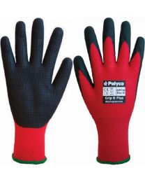 Polyco Grip It Plus Latex Coated Work Gloves