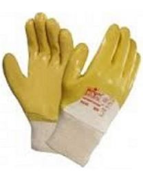Marigold N230Y 3/4 Dipped Nitrile Coated Work Gloves