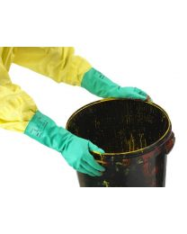 Ansell AlphaTec  37-675 Green Nitrile Chemical Resistant Gloves