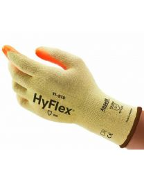 Case 144 Pairs Ansell Hyflex 11-515 Cut Resistant E Gloves 8 M