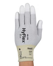 Ansell HyFlex 48-135 PU Fingertip Coated Anti-static ESD Gloves