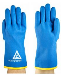 Ansell ActivArmr 97-681 Fully PVC Coated Waterproof Thermal Gloves