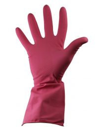 PH Sheild 2 Pink Latex Household Rubber Gloves