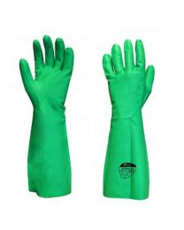 Polyco N Dura 45 Green Nitrile Extra Long Sleeve Chemical Gloves