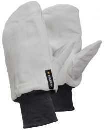 Tegera 10 Winter Lined Water Repellent Leather Gloves Mitten One Size 11